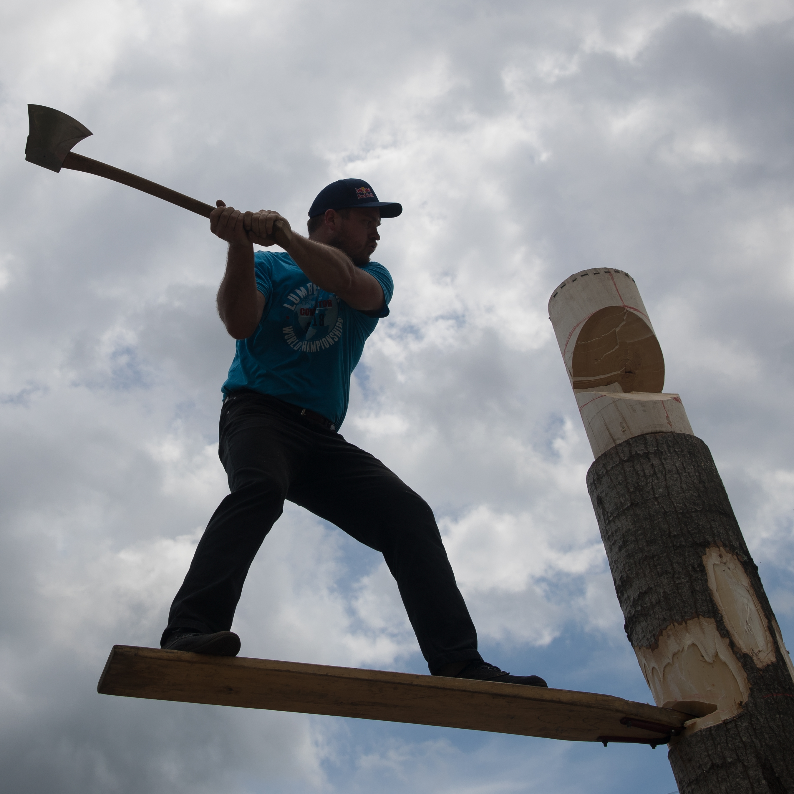 Backlit Lumberjack Unprocessed