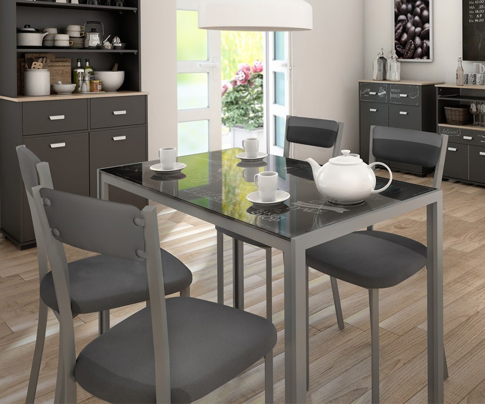 Mesas De Cristal Para Cocina