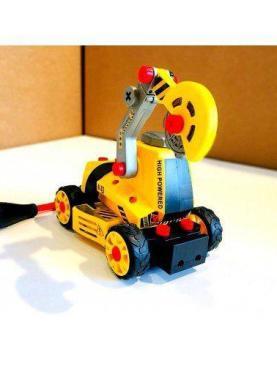 Excavator puzzle 3D