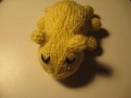 a knitted bedbug