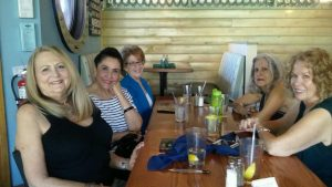 lovely ladies at lunch