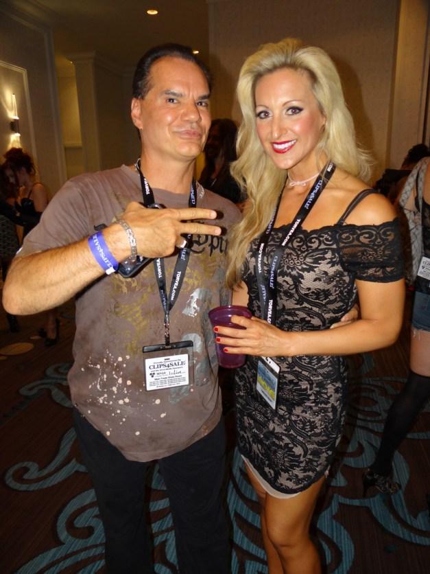 Dominic Wolfe and his lady, Carolina Crush