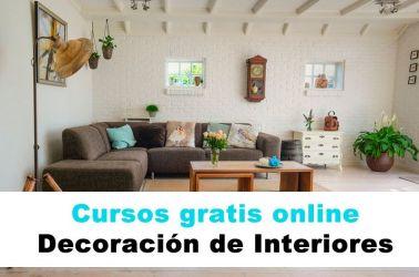 ▷ Cursos de decoración de interiores gratis online�2020】