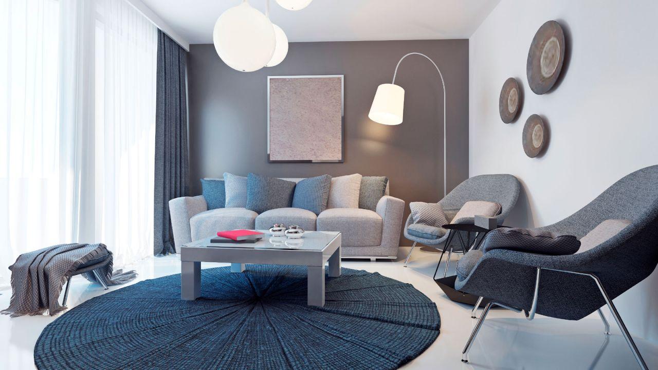 Decorar en azul y gris  Decora tu casa
