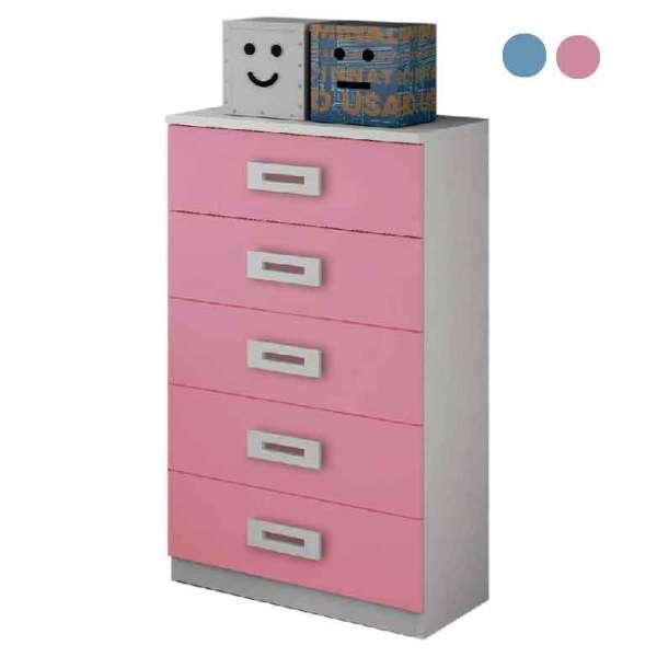 camiseiro-5-gavetas-rosa