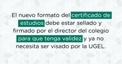 certificado de estudios 2021