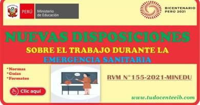 📣 ¡Atención, docente y auxiliar de educación! CONOCE LAS NUEVAS DISPOSICIONES SOBRE EL TRABAJO DURANTE LA EMERGENCIA SANITARIA