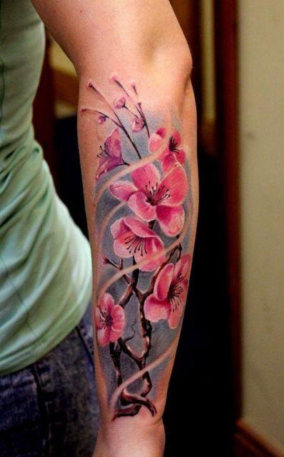 Significados De Tatuagens De Flores