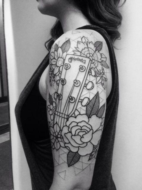 Tatuagem de Violo  Significado e Modelos Incrveis para