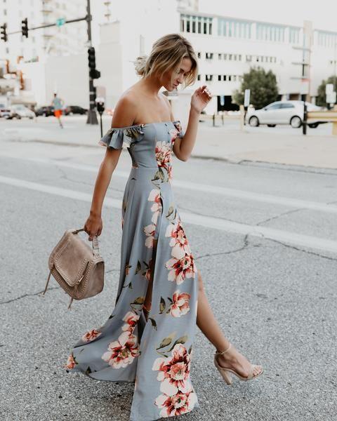 vestido decote ciganinha