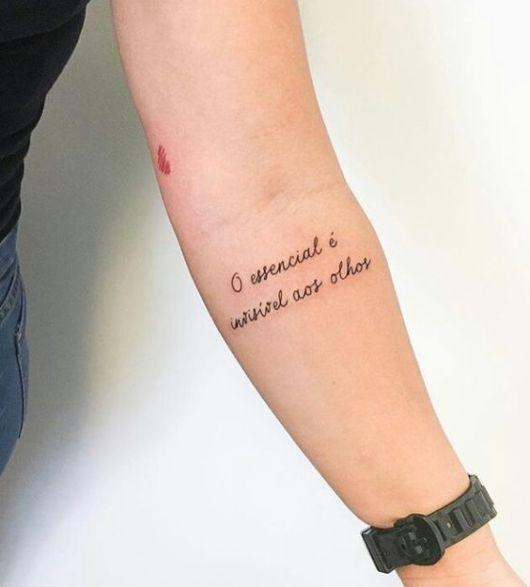 Frases para Tatuagem Feminina – 51 Tattoos e Fontes Apaixonantes!