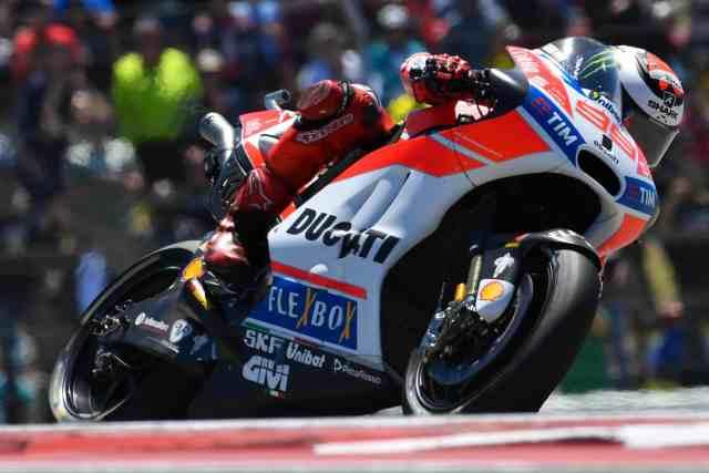 Jorge Lorenzo terminou em 9º. Nitidamente parece estar ainda acertando a Ducati - Foto:  MotoGP