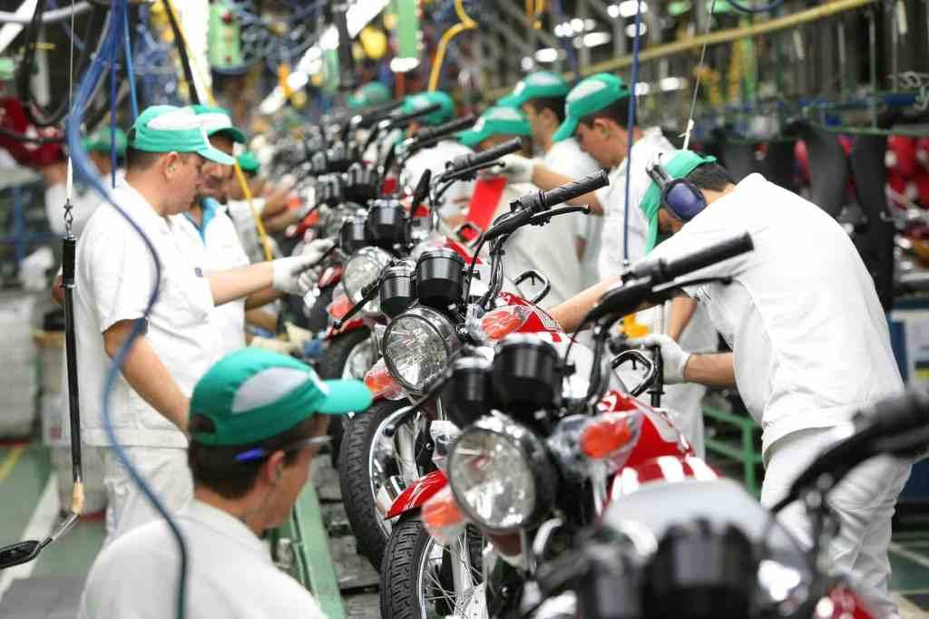Produção de motos cresce 5,2% em setembro, segundo Abraciclo