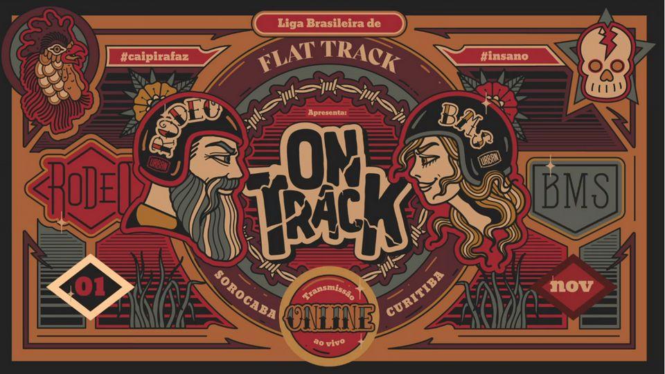 On Track' ocorre no dia 1º de novembro, às 14h