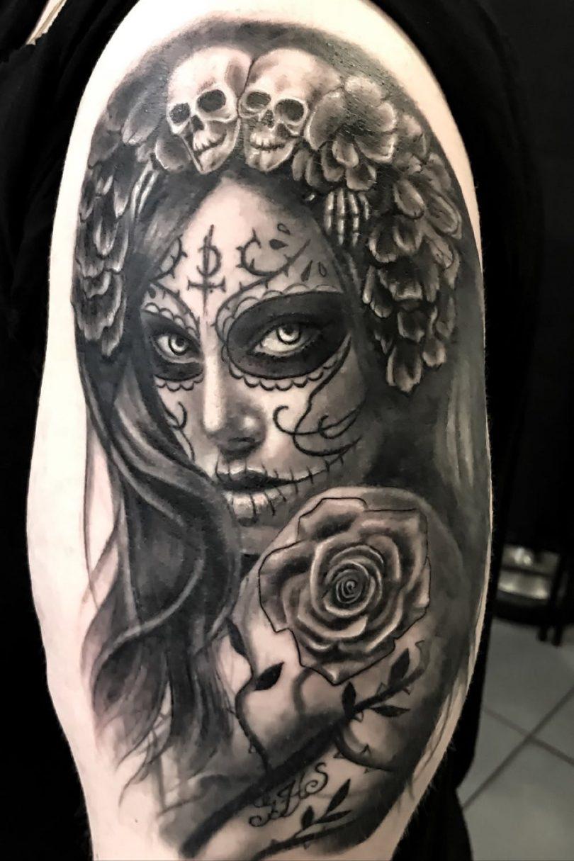 Imagens De Tattoo Catrina Significado