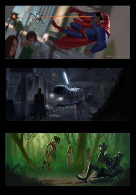 Super Heróis em Ação!
