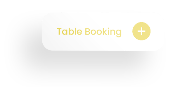 Table booking and button icon with shadow