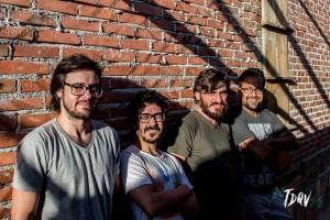 Foto: Vinicius Grosbelli – Banda Gentileza (Diego Perin, Heitor Humberto, Jota Borgonhoni e Tuna Castilho)
