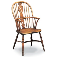 Windsor Chair With Arms Swing Bangladesh Chairs Reproduction Modern Made In Uk Tudor Oak Georgian