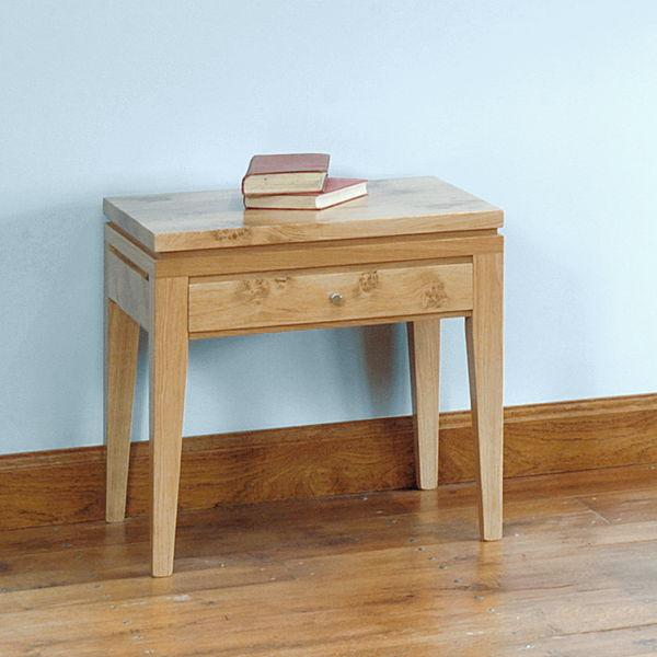 light oak side table modern oak