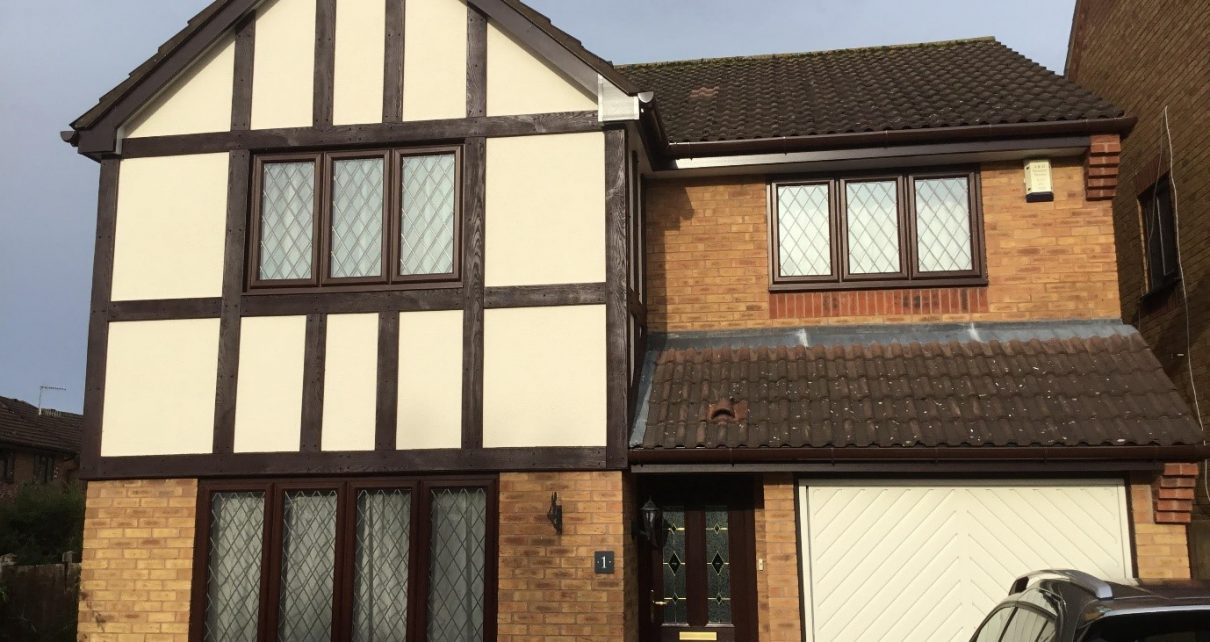 Your Guide To Choosing Tudor Exterior Paint Colours