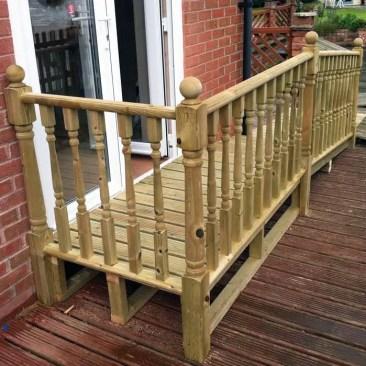Tudor Carpentry and maintenance Shrewsbury Outside Disability Ramp