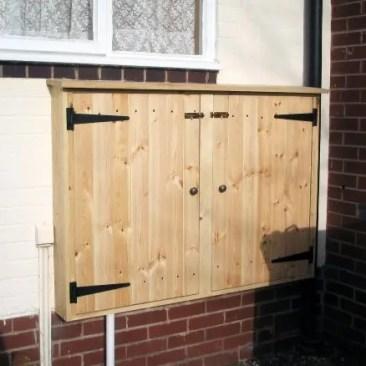 Tudor Carpentry and maintenance Shrewsbury Outside Electrical Cupboard