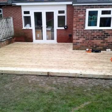 Tudor Carpentry and maintenance Shrewsbury Shropshire Decking