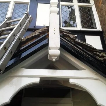 Tudor Carpentry and maintenance Shrewsbury Shropshire Finial After