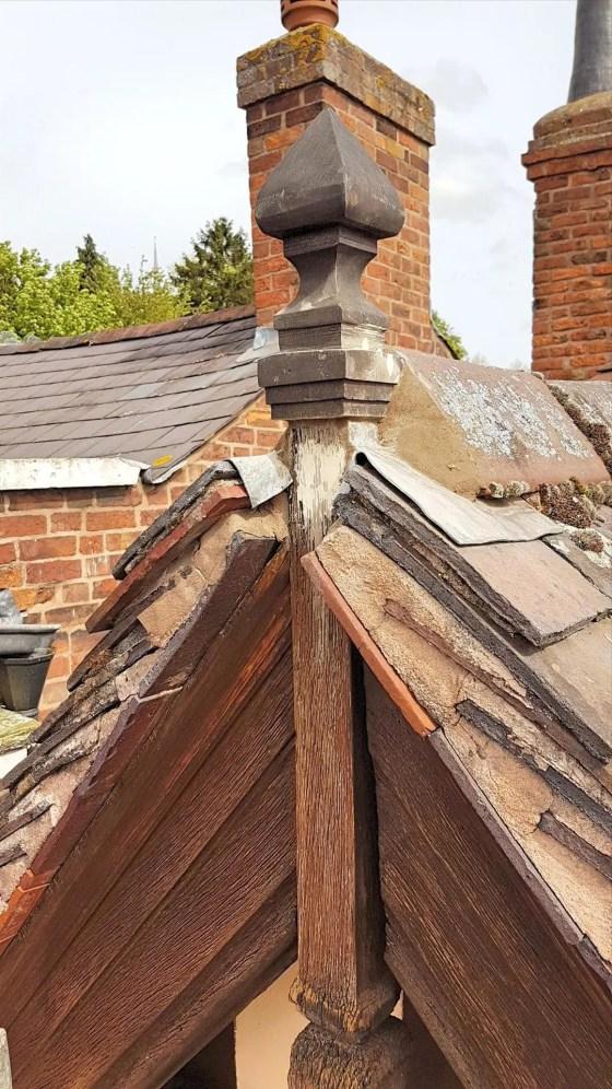 Shrewsbury-Shropshire-Carpenter-finial-rot-repair