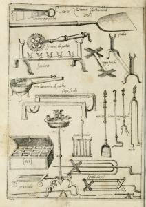 Scappi's kitchen tools