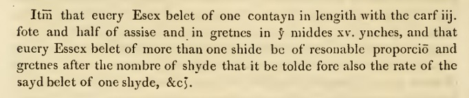 The Customs of London, Otherwise Called Arnold's Chronicle. London: Printed for F. C. and J. Rivington [etc.], 1811. p98