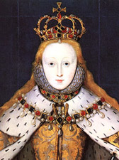 Image result for Elizabeth I is crowned Queen of England
