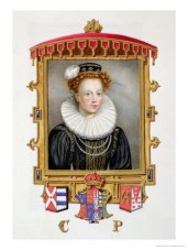 'Memoirs of Queen Elizabeth', Dowager Queen Katherine by Sarah, Countess of Essex