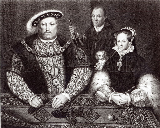 The Relationships of Lady Mary Tudor Henry VIII and his consort Katherine Parr pt 2  tudorqueen6