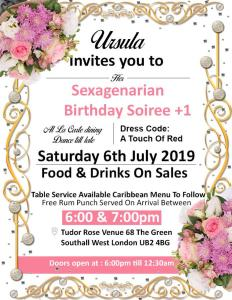 Sexagenarian Birthday Soiree 2