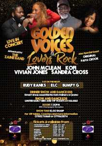 Golden voices of lovers rock