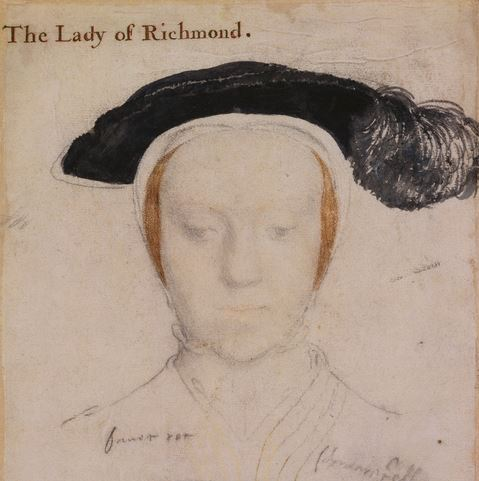 The wife of Henry Fitzroy - Lady Mary Howard.