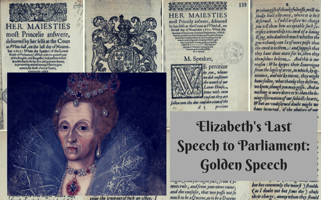 Elizabeth's Last Speech to Parliament: Golden Speech