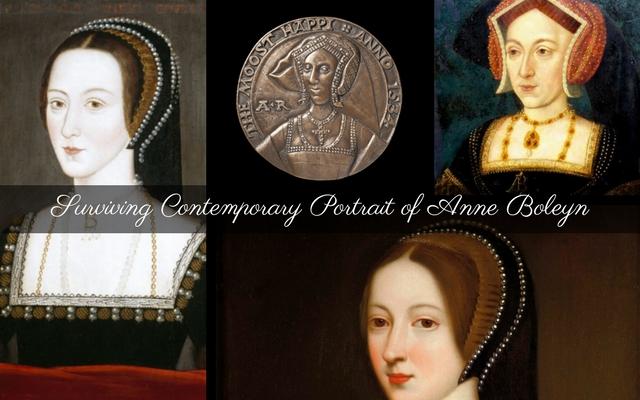 Surviving Contemporary Portrait of Anne Boleyn