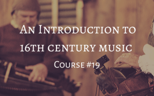 course #19 music