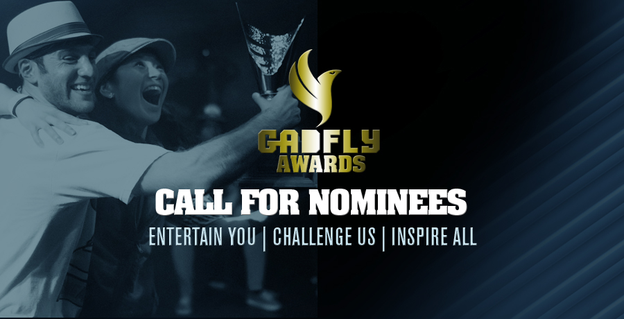 2015 Gadfly Awards Nominations are officially open!
