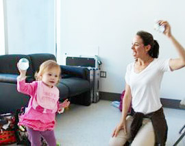 Meryl Salzinger is a baby wrangler who helps babies and children on photo and comerical shoots