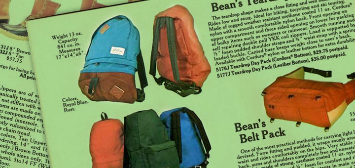 Cataloguing: The L.L. Bean Backpack