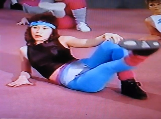 Aerobic Lady from Buns of Steel (Photo: YouTube)