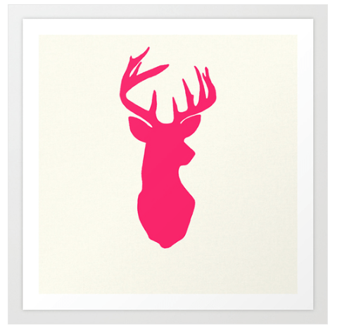Deer print as recommended by TueNight