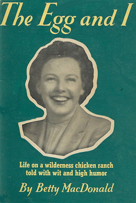 tuenight the egg and i bookmaven's best Betty MacDonald bethanne patrick