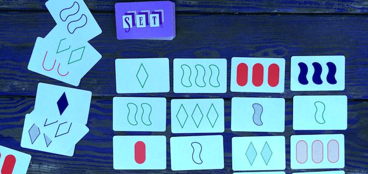 A game of SET. (Photo: Wendy Scherer)