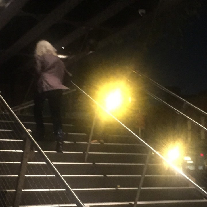 Patti Smith on the Highline