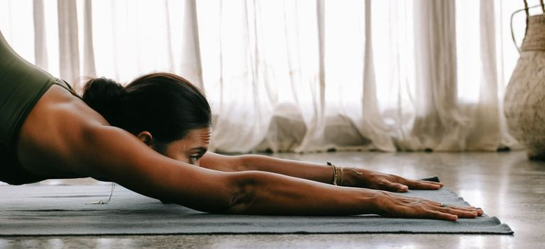 yoga strech